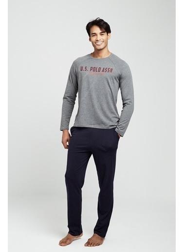 U.S. Polo Assn. Pijama Takım Antrasit